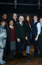 Zendaya Coleman backstage at the play Harry Potter and the Cursed Child in NYC