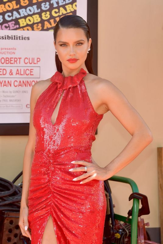 Adriana Lima  Attends the Sony Pictures