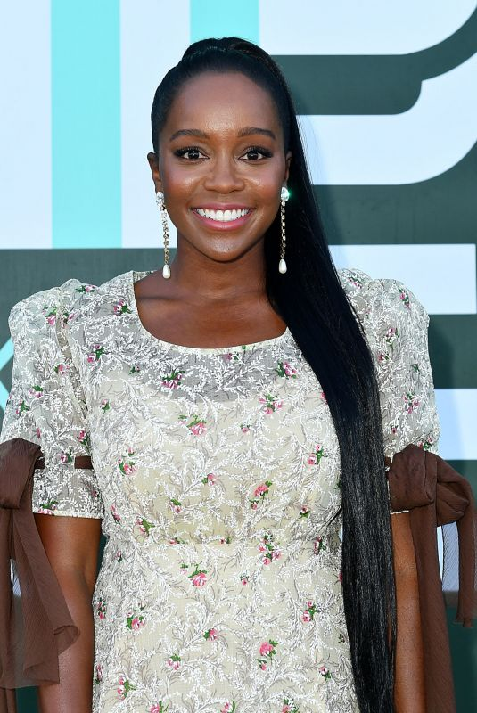 Aja Naomi King At Miu Miu Club Event in Paris