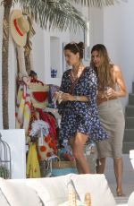 Alessandra Ambrosio In bikini on a beach in Mykonos