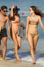 Alessandra Ambrosio On the beach in Mykonos