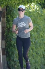 Ali Larter Out for a run in Los Angeles