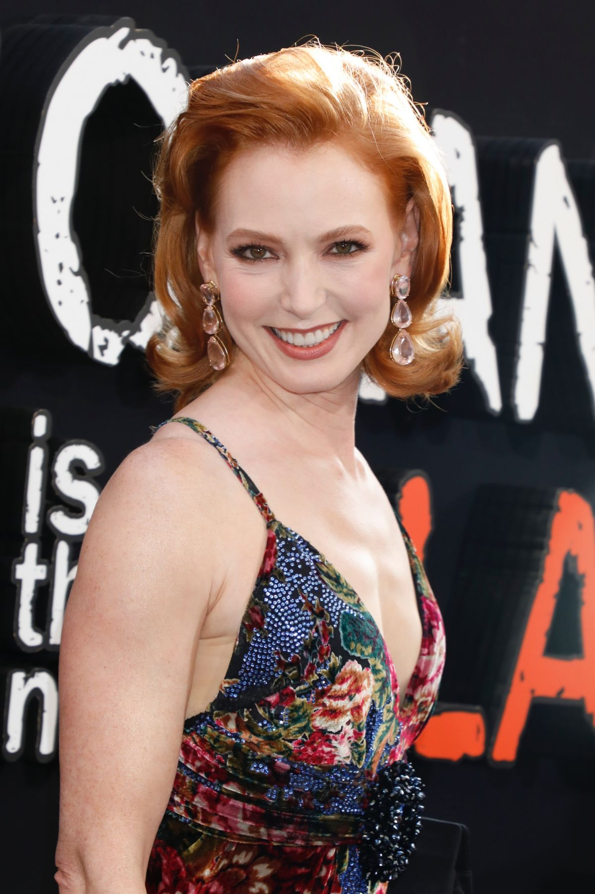 Alicia Witt At Orange is the New Black Final Season ...