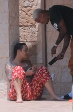 Amber Rose and Boyfriend Alexander AE Edwards out and about in LA