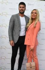 Amber Turner At Dr Nyla Summer Garden Party at her clinic in Alderley Edge in Cheshire