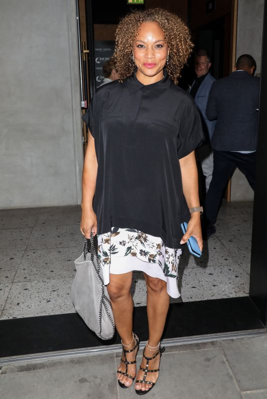 Angela Griffin Attending the ITV Summer Party 2019 at Nobu Shoreditch in London