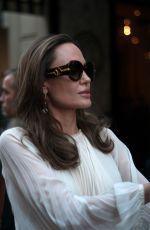 Angelina Jolie Seen in Paris