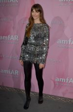 Annabelle Belmondo Attending the amfAR Couture Cocktail and Dinner Party at Peninsula Hotel