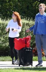 Ariel Winter Heading to LAX Airport