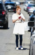 Ariel Winter Outside Big Sugar Bakery in Studio City