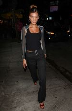 Bella Hadid At the Peppermint Club in West Hollywood