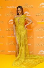 "Beyonce At ""The Lion King"" European Premiere in London"