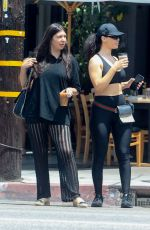 Brittny Gastineau Grabs lunch with a friend in Hollywood