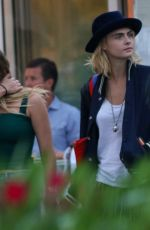 Cara Delevigne and Ashley Benson out in Saint Tropez
