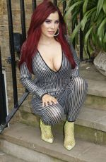 Carla Howe Spotted out and about in London