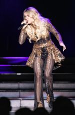 Carrie Underwood Performing at Resorts World Arena in Birmingham England