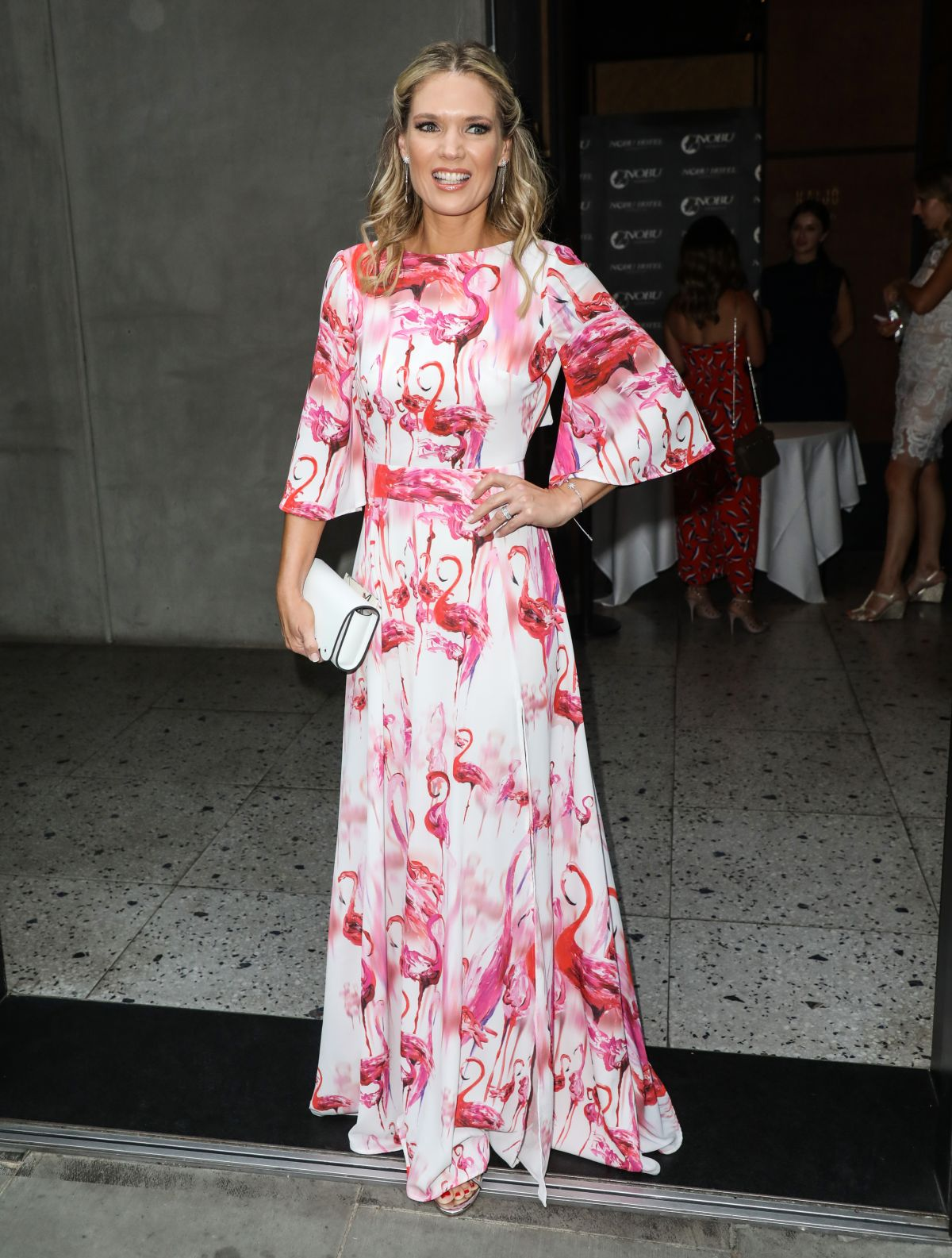 Nobu Shoreditch: Charlotte Hawkins Attending The ITV Summer Party 2019 At