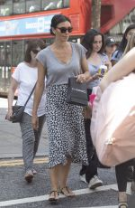 Christine Lampard Shopping on Kings Road, London