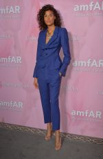 Cindy Bruna Attending the amfAR Couture Cocktail and Dinner Party at Peninsula Hotel, Paris