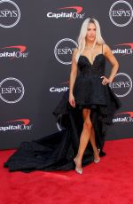 CJ Perry (WWE Lana) At The ESPYS 2019 Awards at the Microsoft Theatre in Los Angeles