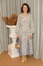 Claire Foy Attends the Polo Ralph Lauren suite during the Wimbledon Tennis Championship Men