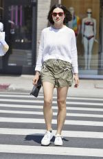 Crystal Reed Shows off Her New Short Haircut Out in Beverly Hills