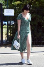 Daisy Lowe At Wimbledon tennis championship in London
