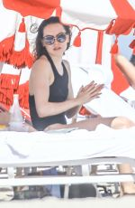 Daisy Ridley Spends a day at the beach in Miami