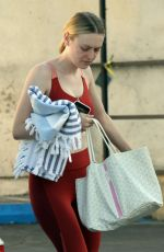 Dakota Fanning At the gym in LA