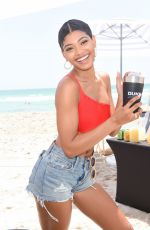 Danielle Herrington At SI Mix Off At The Model Mixology Competition in Miami Beach