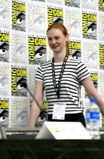 Deborah Ann Woll At All Things RPG-E: Geek & Sundry panel during Comic-Con International in San Diego