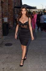 Demi Rose Arriving at TAO restaurant in Los Angeles
