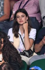 Diana Silvers At Day seven of the Wimbledon Tennis Championships at All England Lawn Tennis and Croquet Club in London, England