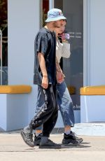 Dua Lipa and Anwar Hadid Strolling down Melrose Ave