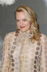 Elisabeth Moss At Christian Dior Haute Couture Fall/Winter 2019 2020 show as part of Paris Fashion Week in Paris