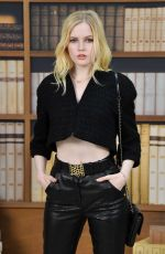 Ellie Bamber At Chanel Haute Couture Fall/Winter 2019/20 collection show, Paris Fashion Week