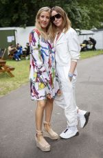 Ellie Goulding and Stella McCartney Backstage at day 3 of Wireless Festival, Finsbury Park, London