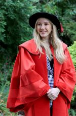 Ellie Goulding Receiving Honorary Doctor of Arts Degree from the University of Kent