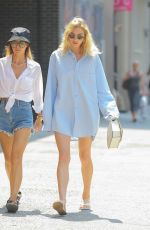 Elsa Hosk Out in NYC