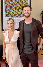 Elsa Pataky & Chris Hemsworth At Sony Pictures