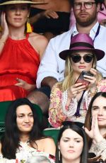 Emma Rigby At Wimbledon Tennis Championships, Day 6, The All England Lawn Tennis and Croquet Club, London
