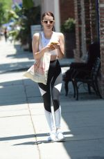 Emma Roberts Out for lunch in Los Feliz