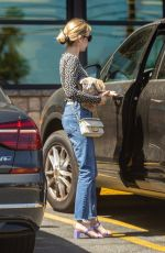 Emma Roberts Outside Gelson