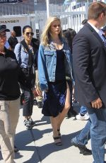 Erin Moriarty Greets fans and shares smiles at Comic-Con 2019 in San Diego