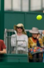 Eugenie Bouchard At Wimbledon Tennis Championships at The All England Lawn Tennis and Croquet Club in London