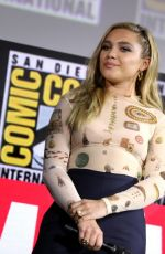 Florence Pugh At Marvel Panel at Comic-con 2019 in San Diego