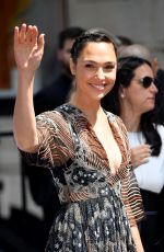 Gal Gadot Arriving at the Christian Dior Haute Couture Fall/Winter 2019 2020 show as part of Paris Fashion Week in Paris