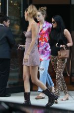 Gigi & Bella Hadid Out for dinner with Kacey Musgraves in NYC