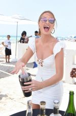 Haley Kalil At SI Mix Off At The Model Mixology Competition in Miami Beach
