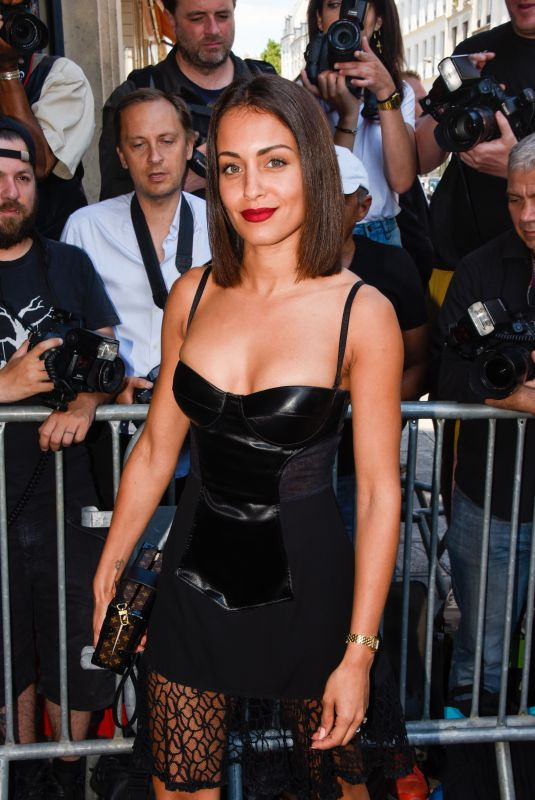 Hiba Abouk At Jean Paul Gaultier show, Fall Winter 2019, Haute Couture Fashion Week, Paris, France